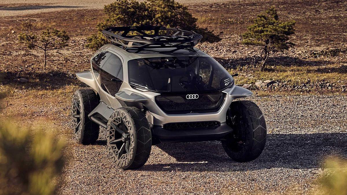 Audi debuts electric off-road AI Trail Quattro concept