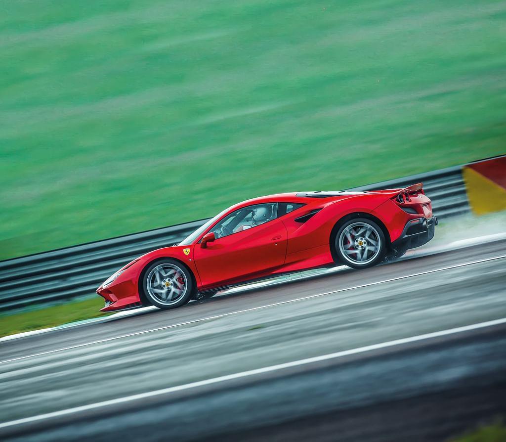 Ferrari F8 Tributo Rear: Ferrari F8 Tributo Test Drive Review