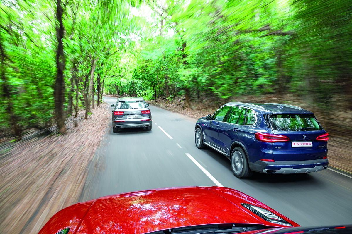 Luxury SUV comparo: BMW X5 vs Range Rover Sport vs Audi Q7