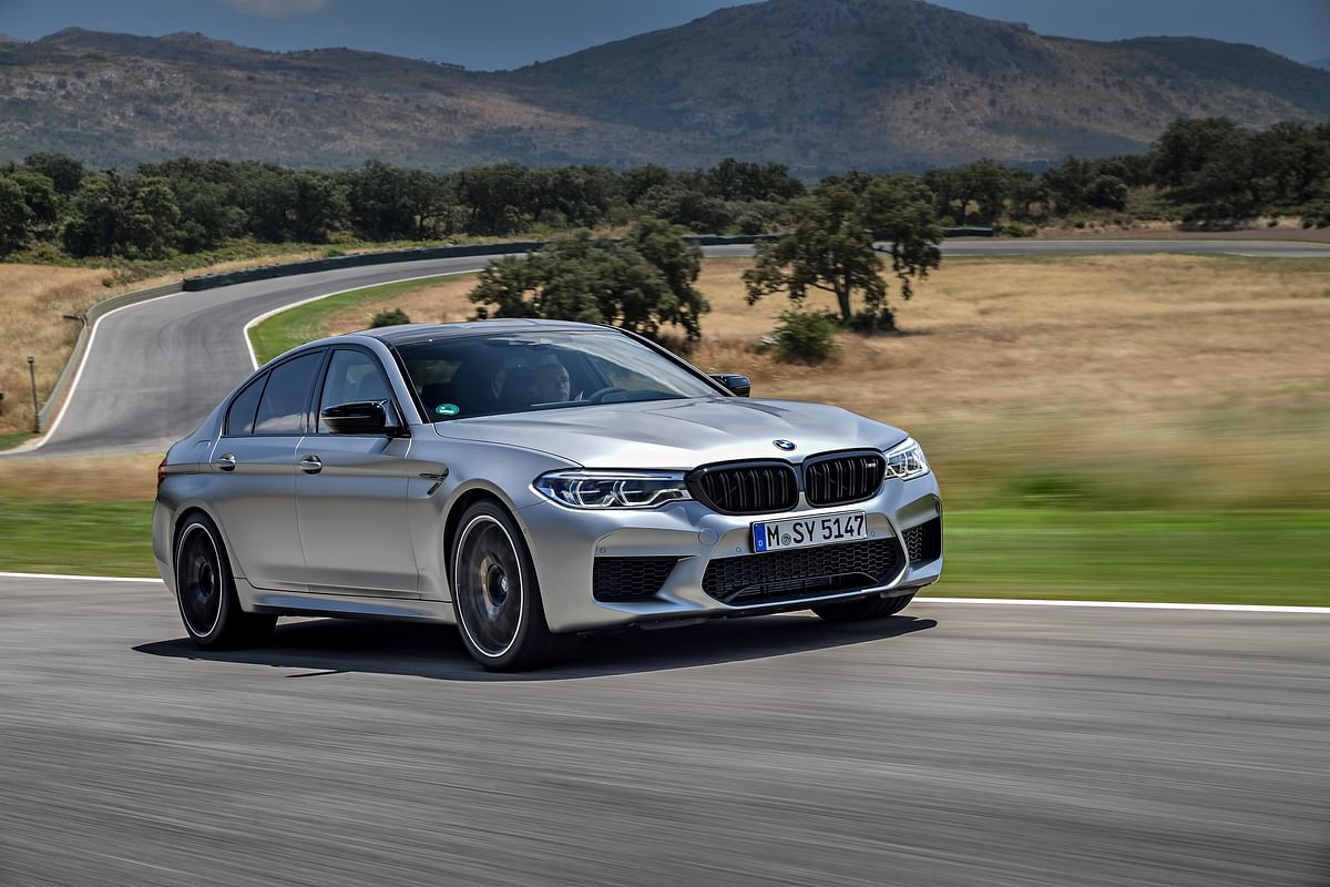 BMW launches the M5 Competition at Rs 1.55 crore
