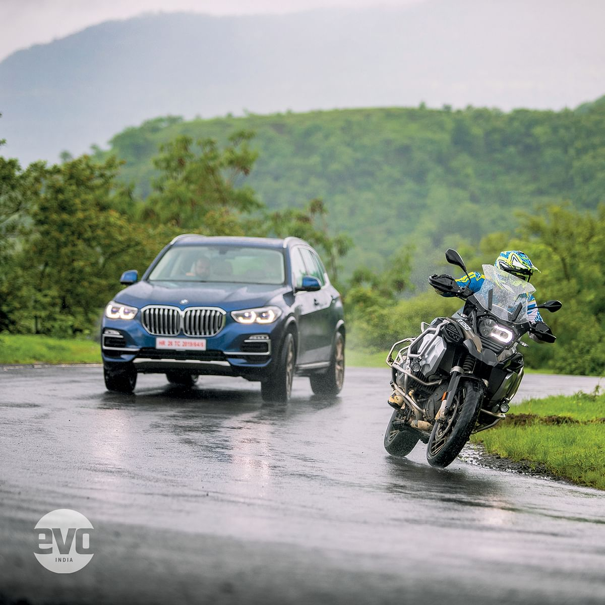 Blood brothers - BMW X5 and R 1250 GS