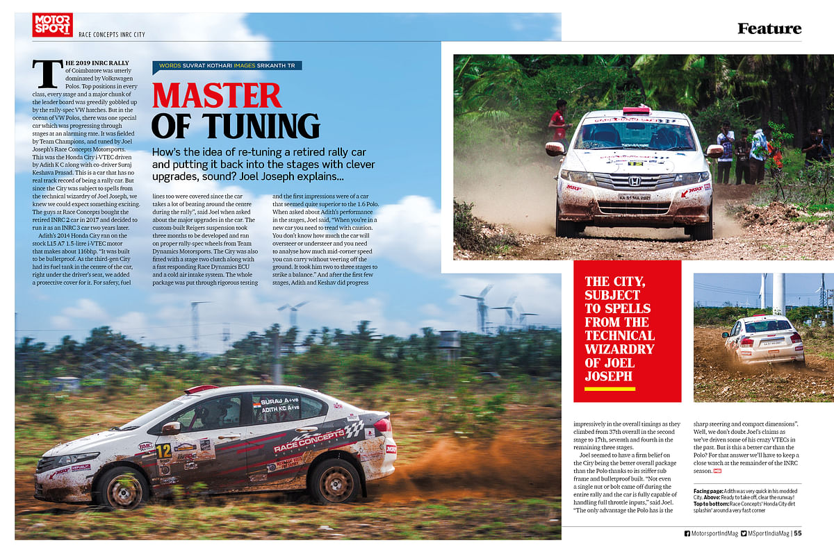 Bike Racing 101 - Guide to kickstart a bike racing career in the latest issue of Motor Sport India magazine