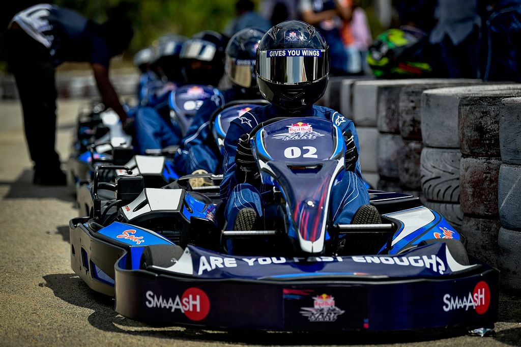 Mohammed Ridhaf wins the Red Bull Kart Fight National Finals 2019