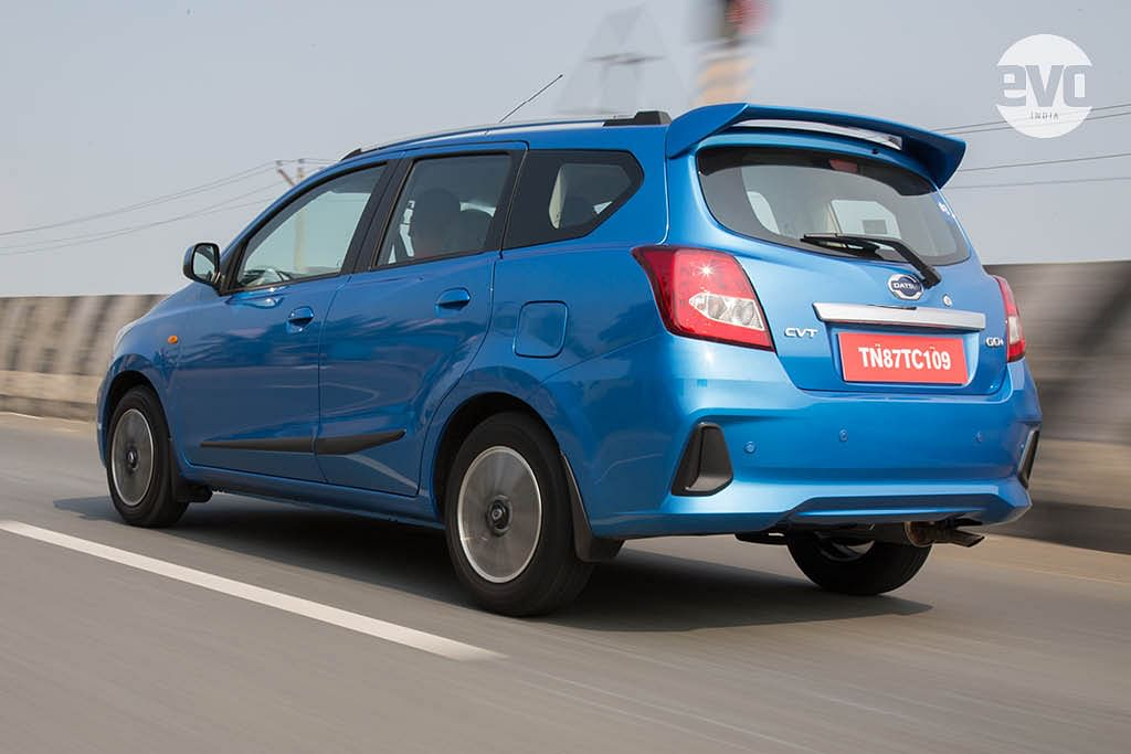 Datsun launches CVT variant in of the Go and Go+