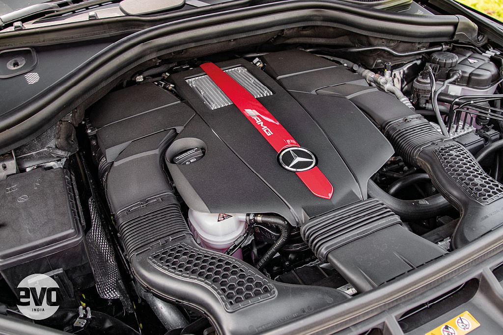 The GLE 43 AMG is a large SUV but the twin-turbo V6 does deliver massive performance.