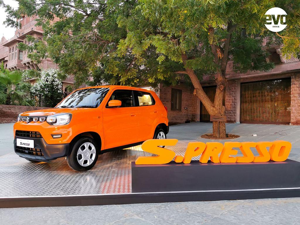 Maruti Suzuki S-Presso - First drive review. Drives better than it looks?