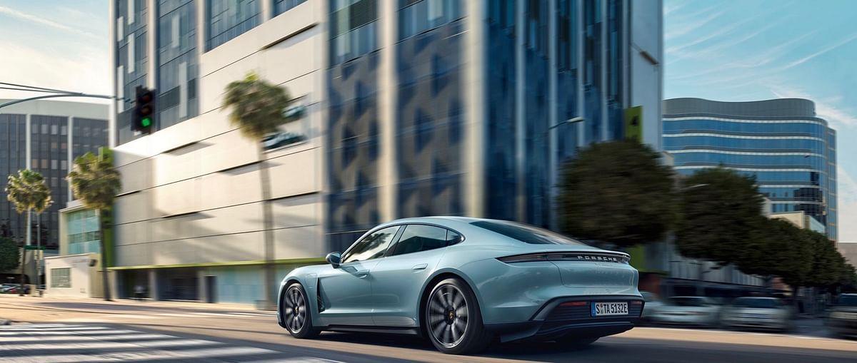 Porsche unveils more affordable Taycan 4S