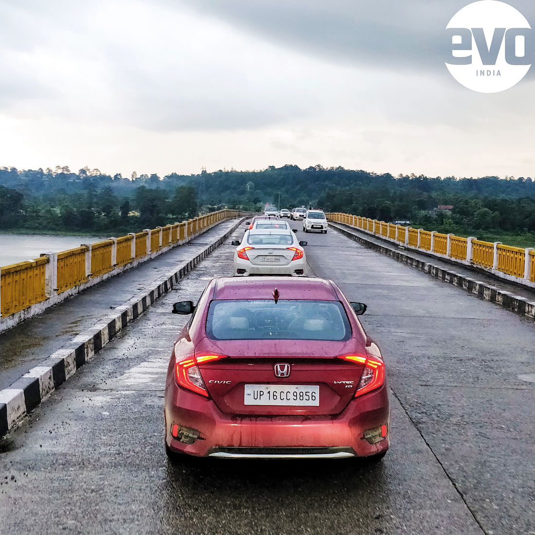 Touring the North East in the Honda Civic and CR-V
