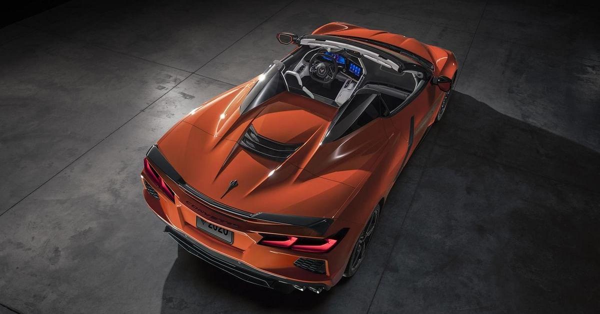 Chevrolet unveils convertible Corvette C8