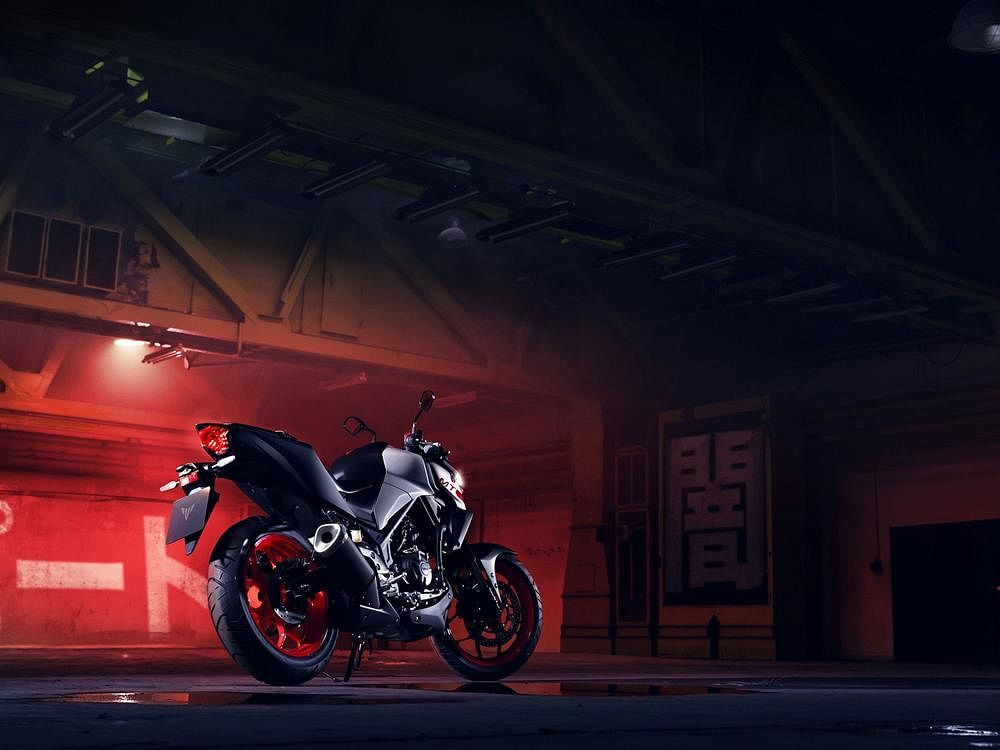 Yamaha unveils the updated MT-03 for international markets