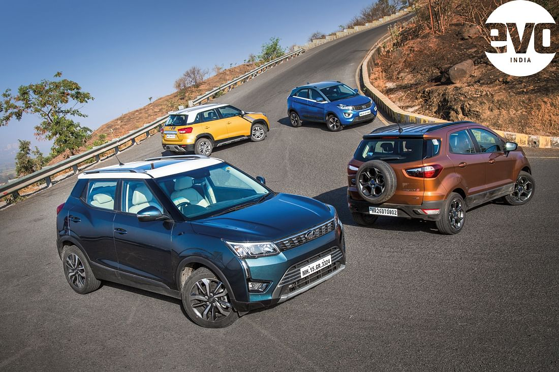 Compact SUV Shootout – XUV300 vs rivals