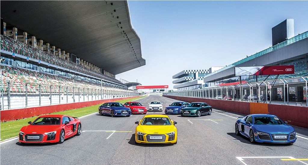 Track attack: Audi Sportscar Experience