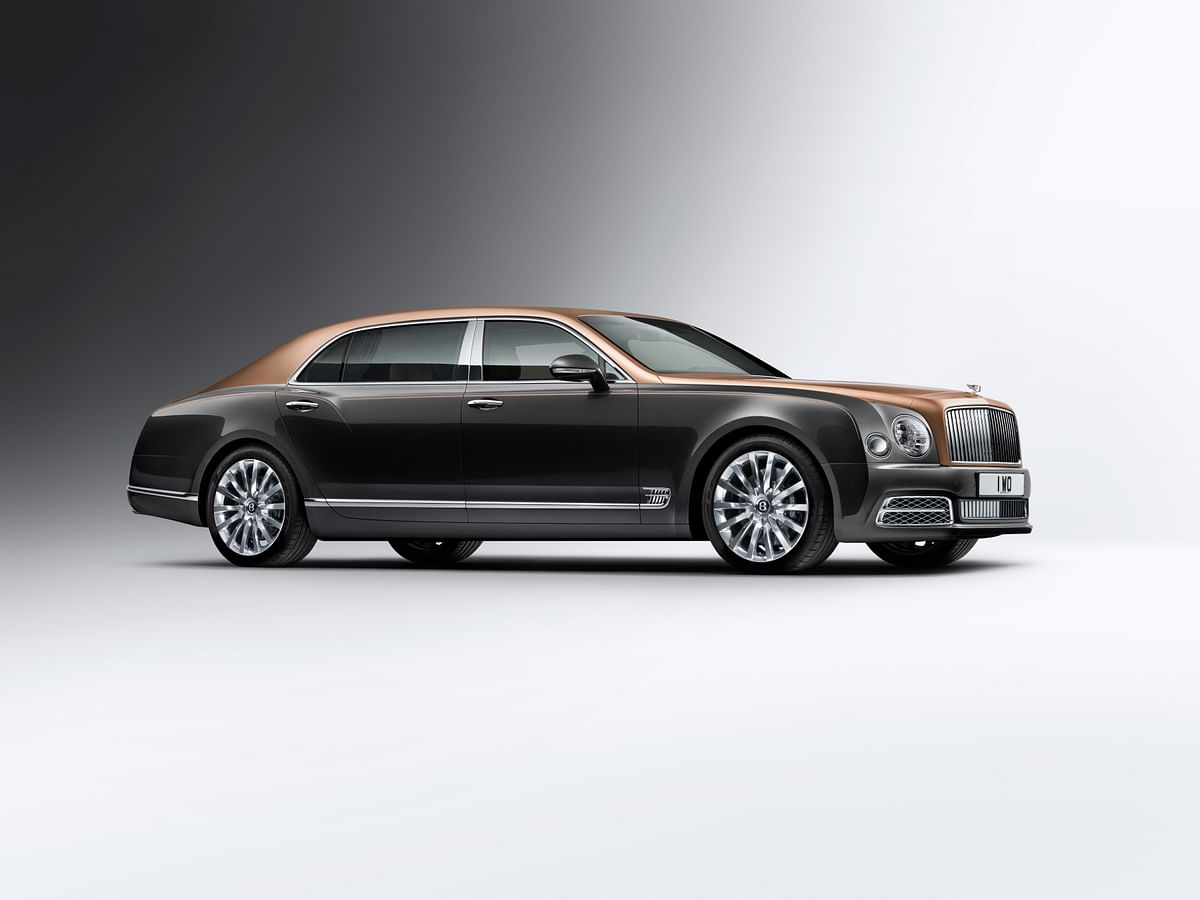 Karnataka's first Bentley Mulsanne Extended Wheelbase delivered