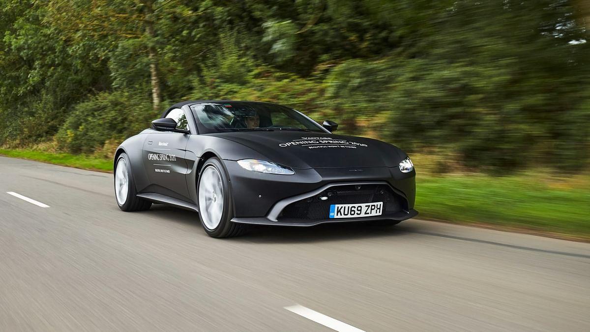 Aston Martin Vantage Roadster prototype revealed