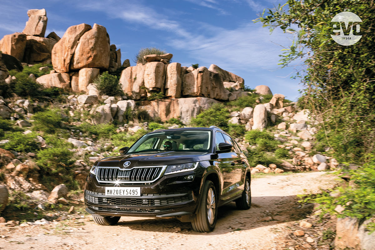 Rediscovering the landscapes of Hampi with the Skoda Kodiaq