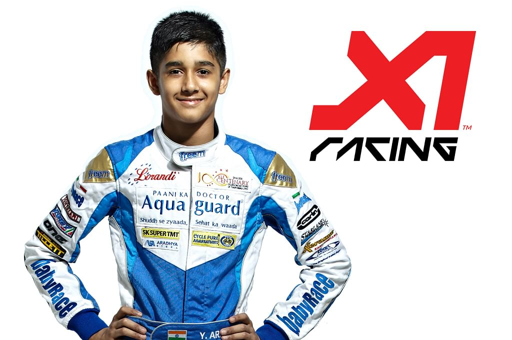 Yash Aradhya to race for SuperSpeed Chennai in the X1 Racing League