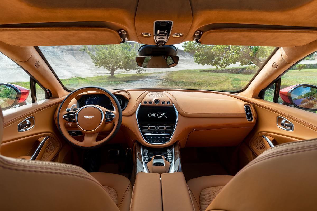 Aston Martin DBX revealed