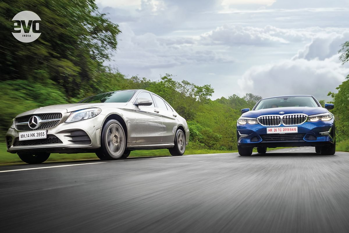 Mercedes-Benz C-Class v BMW 3 Series: Head to head