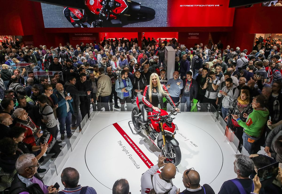 Ducati Streetfighter V4 crowned the 'Most Beautiful Motorcycle' at EICMA 2019
