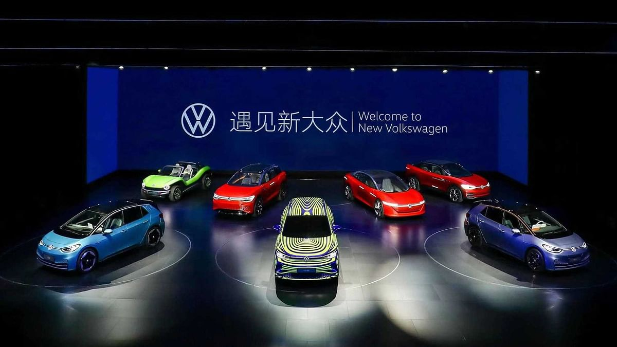 Volkswagen ID.4 showcased in China