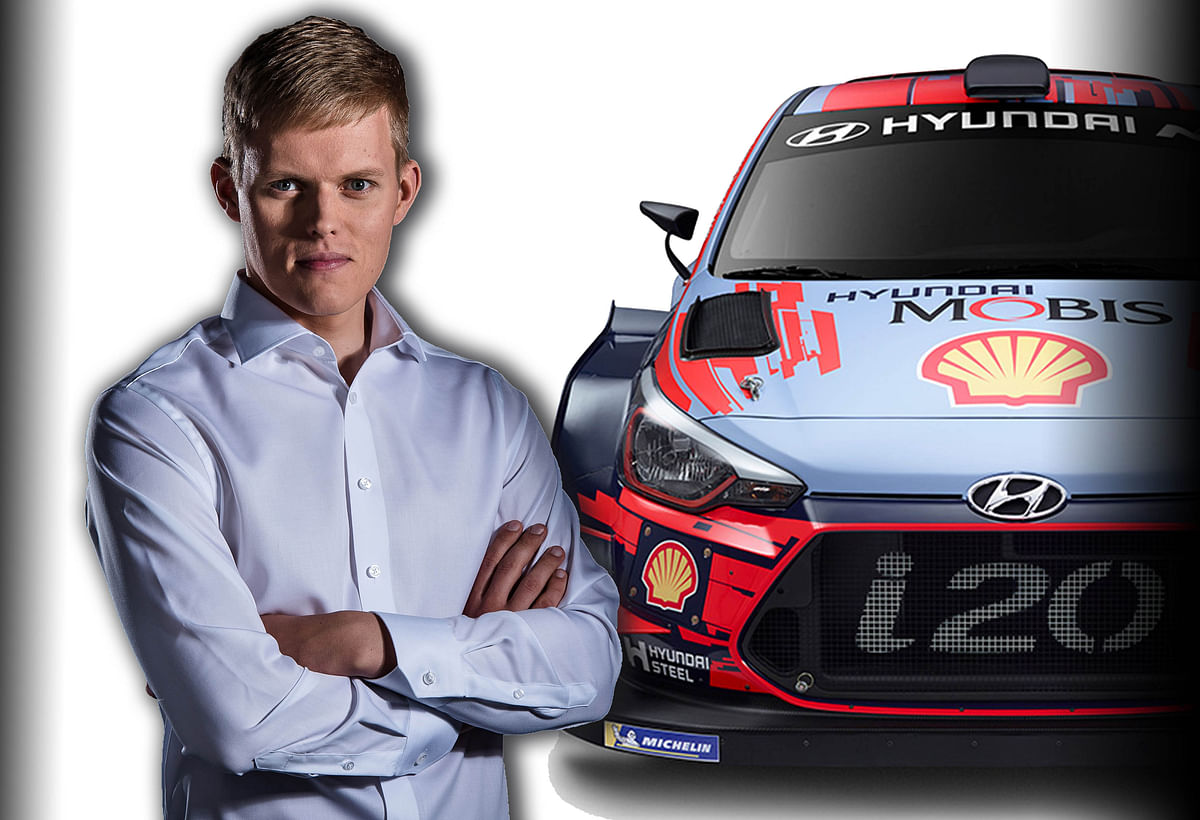 Hyundai Motorsport signs a two-year contract with Ott Tanak