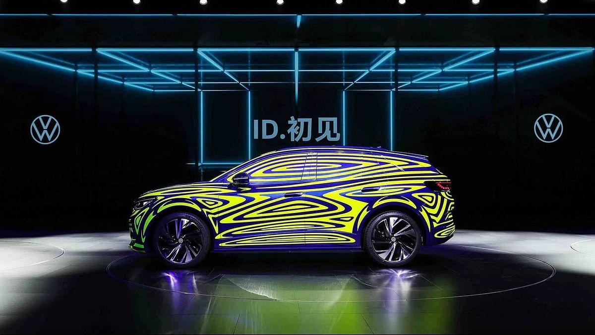 Volkswagen ID.4 showcased in China