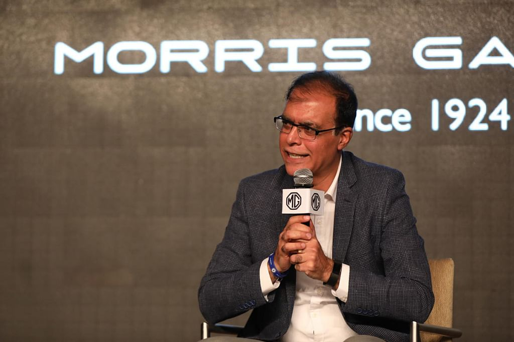 In conversation with Rajeev Chaba, MD, MG Motor India