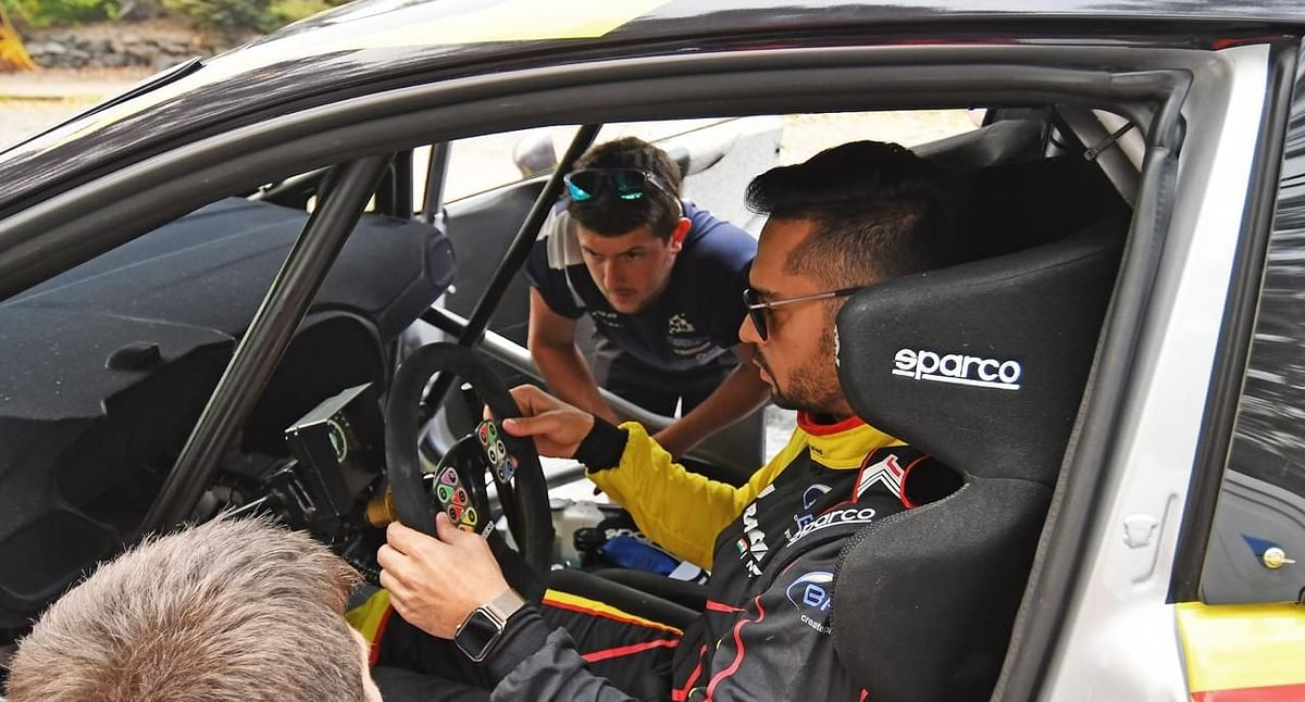 Gaurav Gill ready to return to WRC2