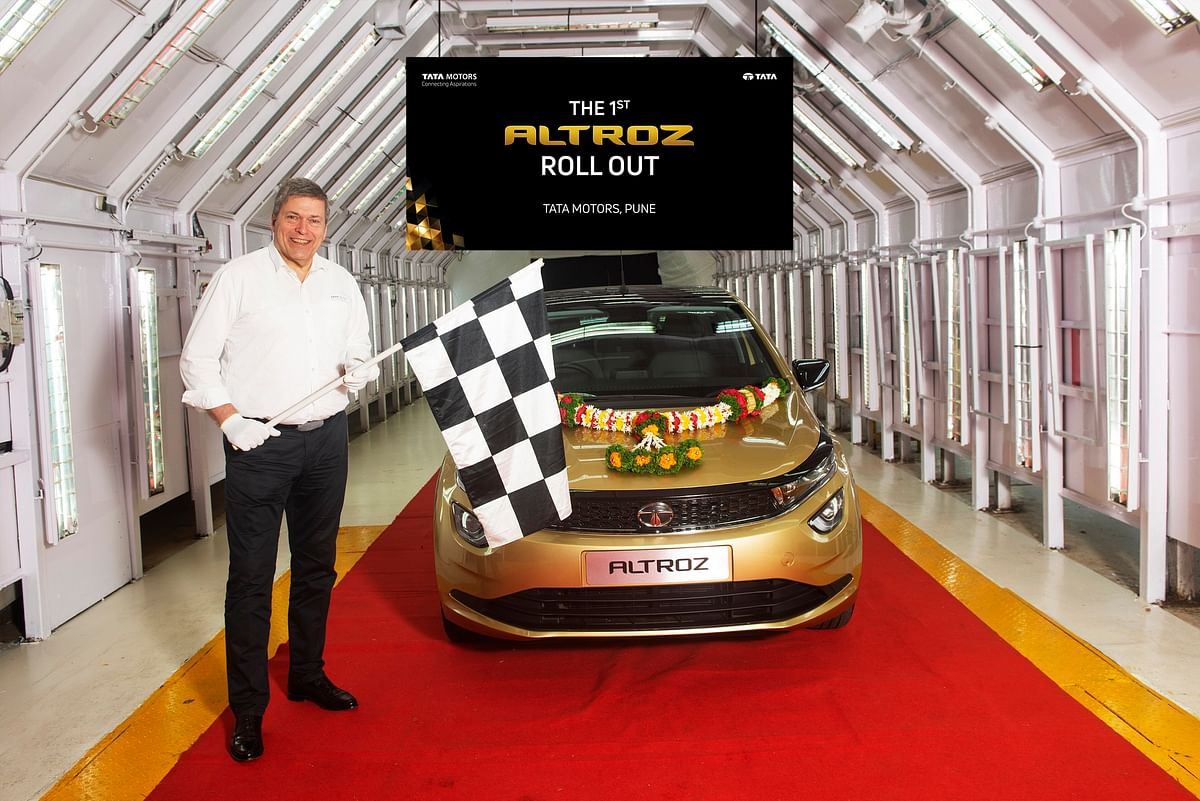 Tata ALTROZ rolls out from its Pune plant