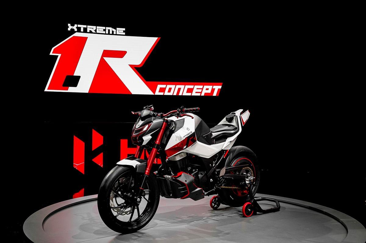 Hero showcases Xtreme 1.R concept at EICMA 2019