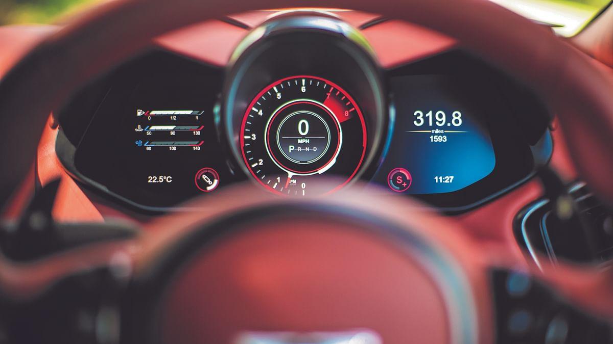 Feeling like Bond driving the Aston Martin DBS