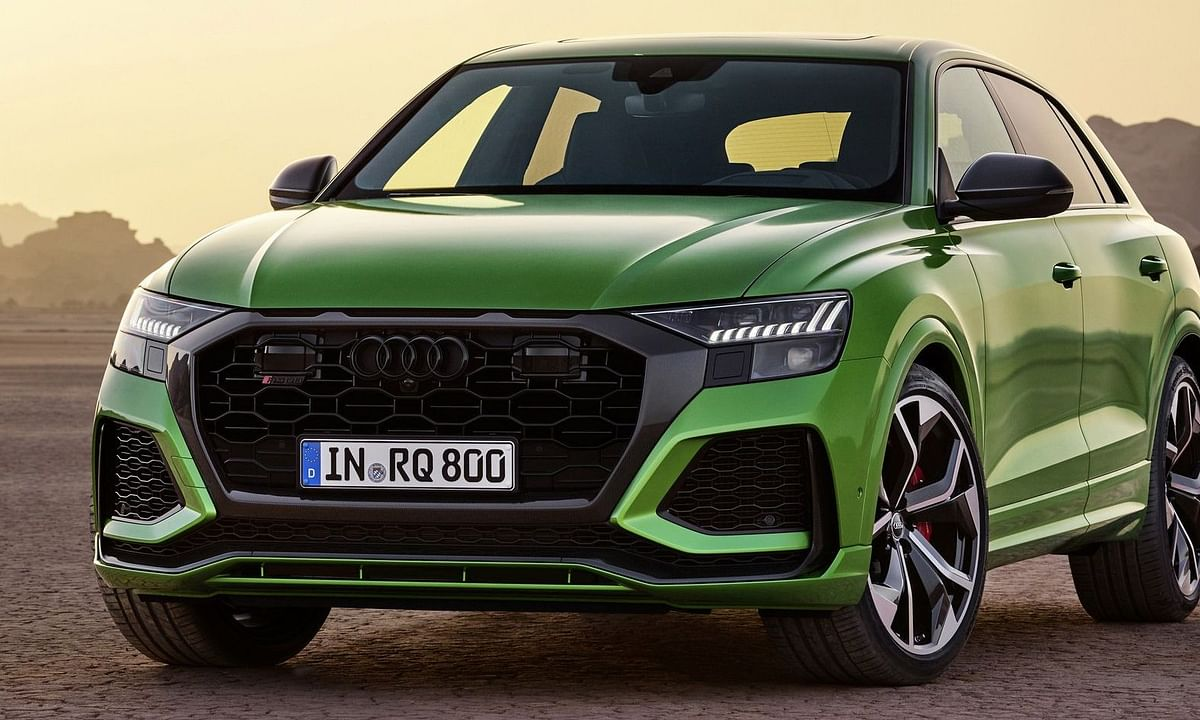 Audi takes the covers off the RSQ8 at the LA Auto Show