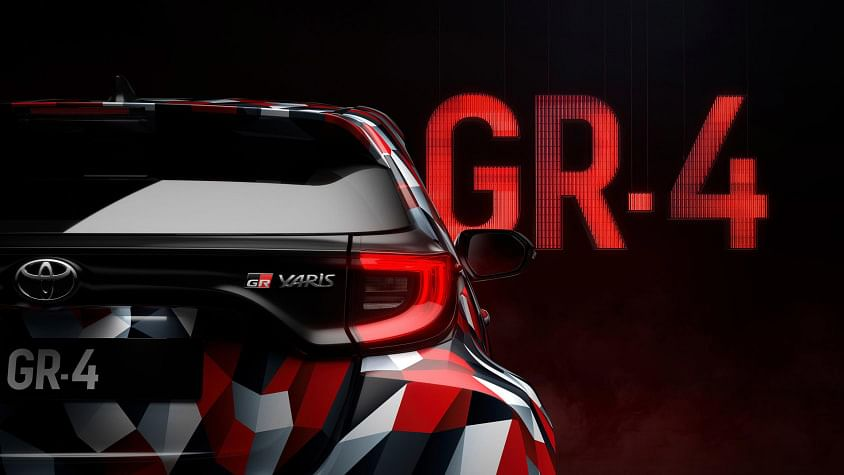 Toyota Yaris GR-4 hot hatchback teased – successor to the GRMN and a true WRC homologation special