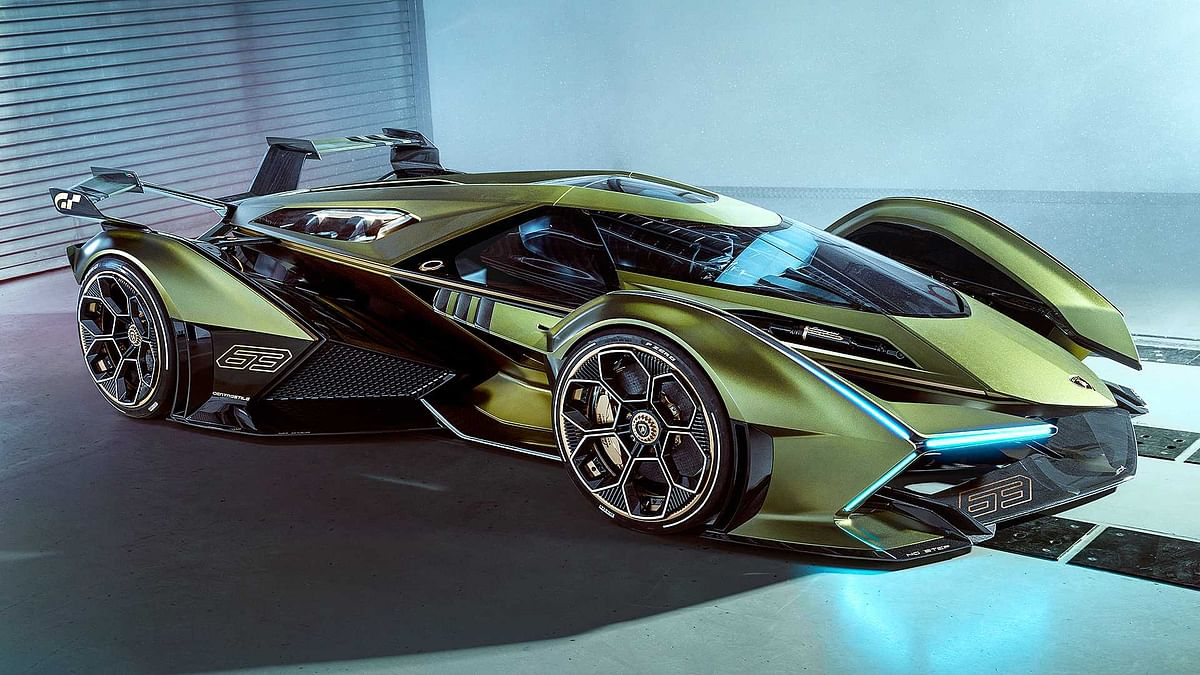 Lamborghini showcase The V12 Vision GT Concept