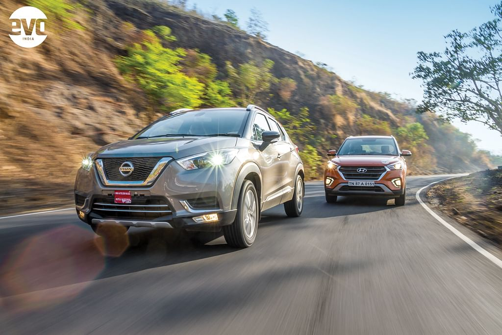 Nissan Kicks v Hyundai Creta: Battle of the Asian compact SUVs