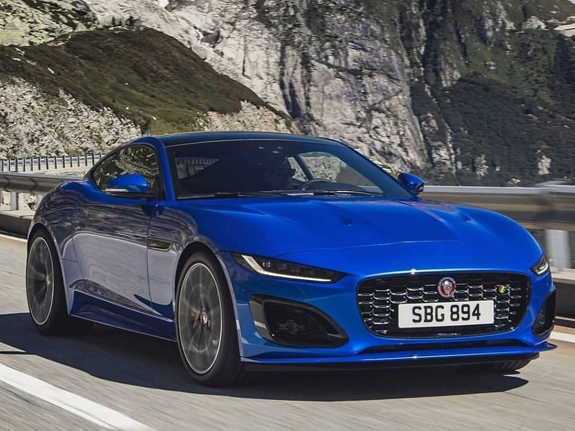 2020 Jaguar F-Type with new styling and tech