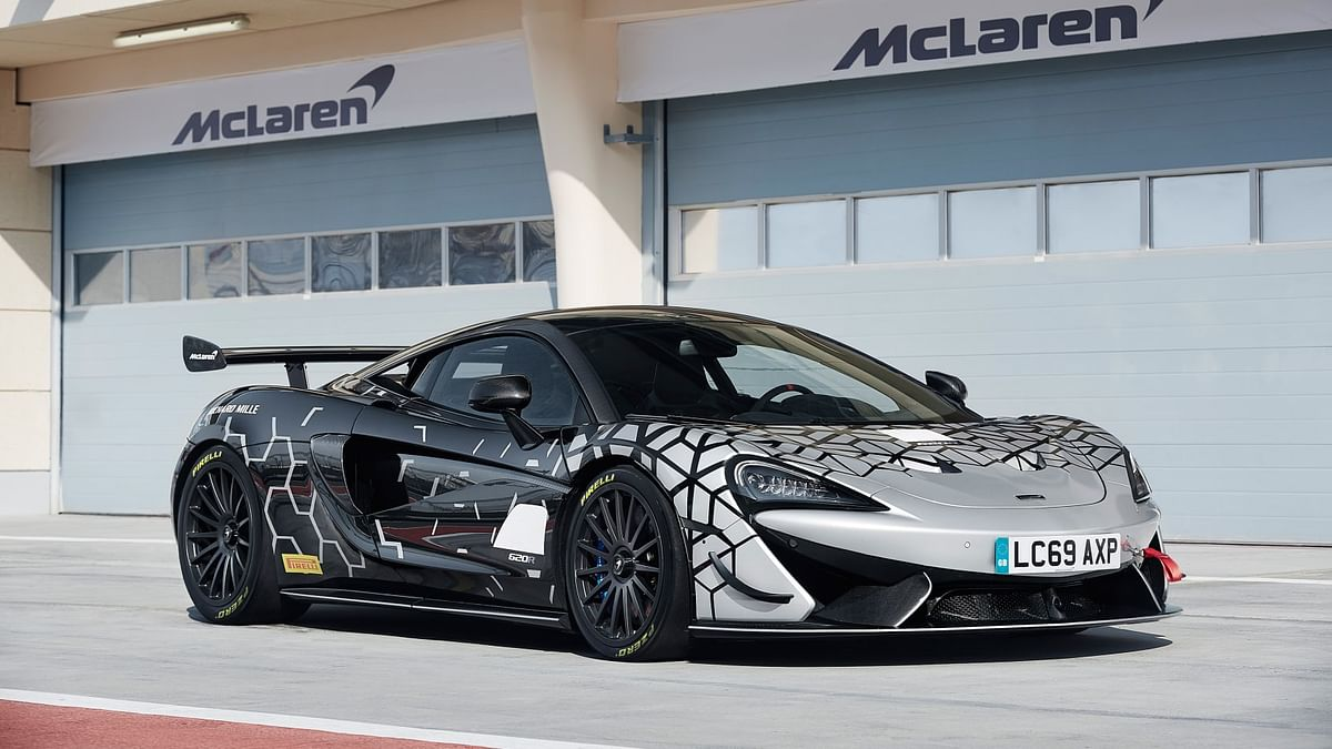 McLaren 620R goes for the GT3 RS jugular