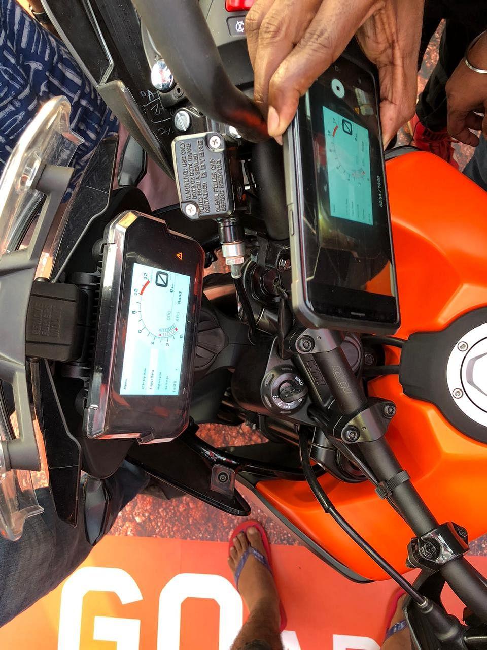KTM reveals the 390 Adventure at India Bike Week 2019