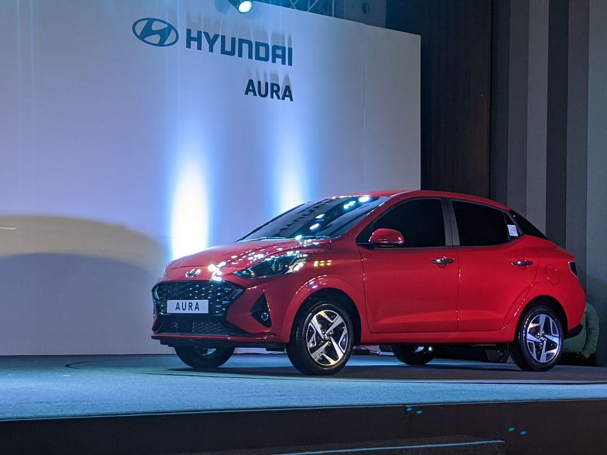 Hyundai unveils Aura sedan, takes the fight to Dzire, Tigor and Amaze