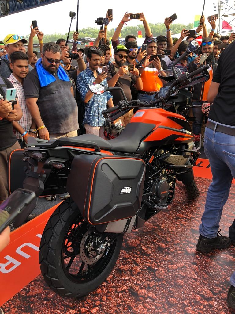 KTM reveals the 390 Adventure at India Bike Week 2019