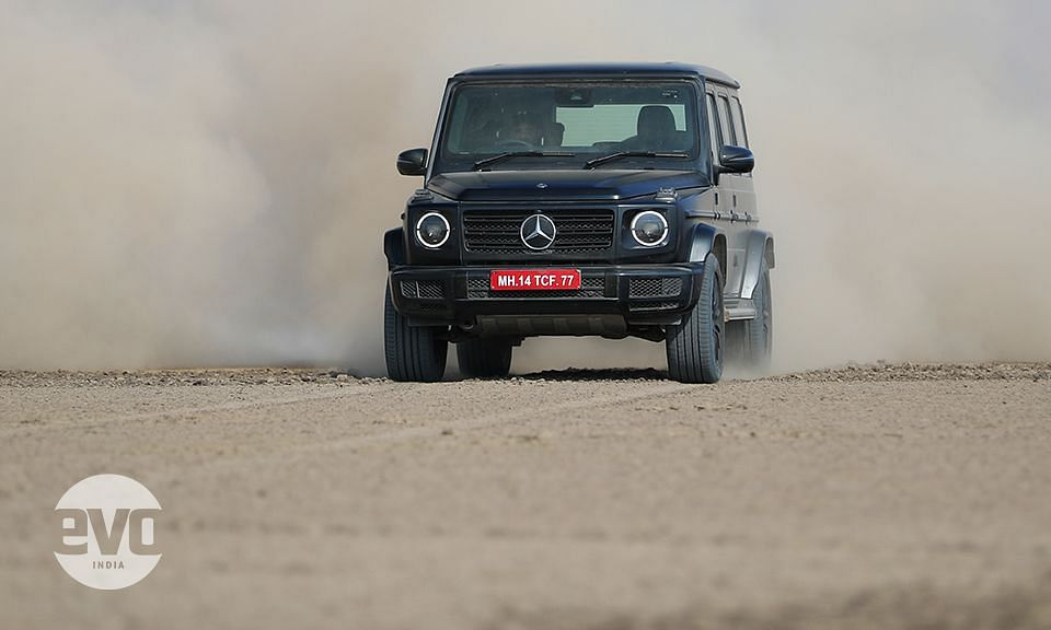 Mercedes-Benz G350d to the Rann!