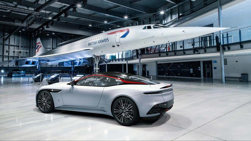 Aston Martin DBS Superleggera Concorde celebrates aviation milestones