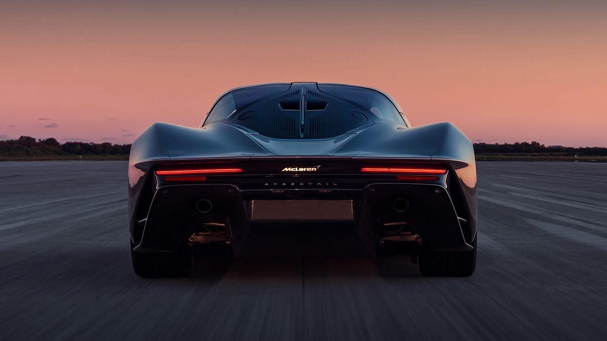 1055bhp McLaren Speedtail achieves 402kmph in testing
