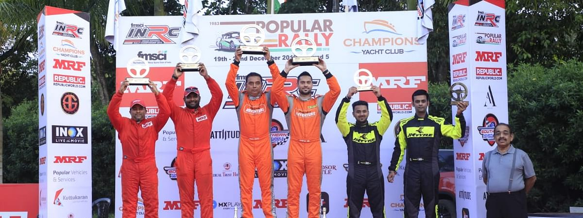 Gaurav Gill wins his fifth Popular Rally