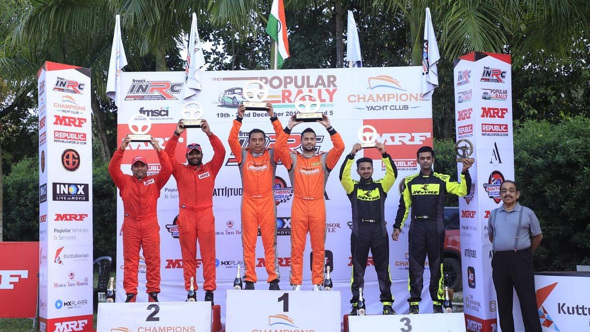 Gaurav Gill wins his fifth Popular Rally
