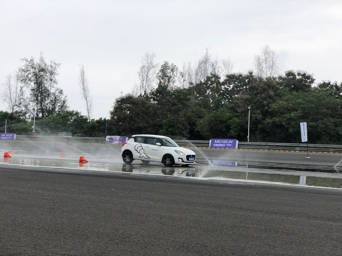 Michelin Energy XM2+ tyre test experience  at WABCO proving grounds
