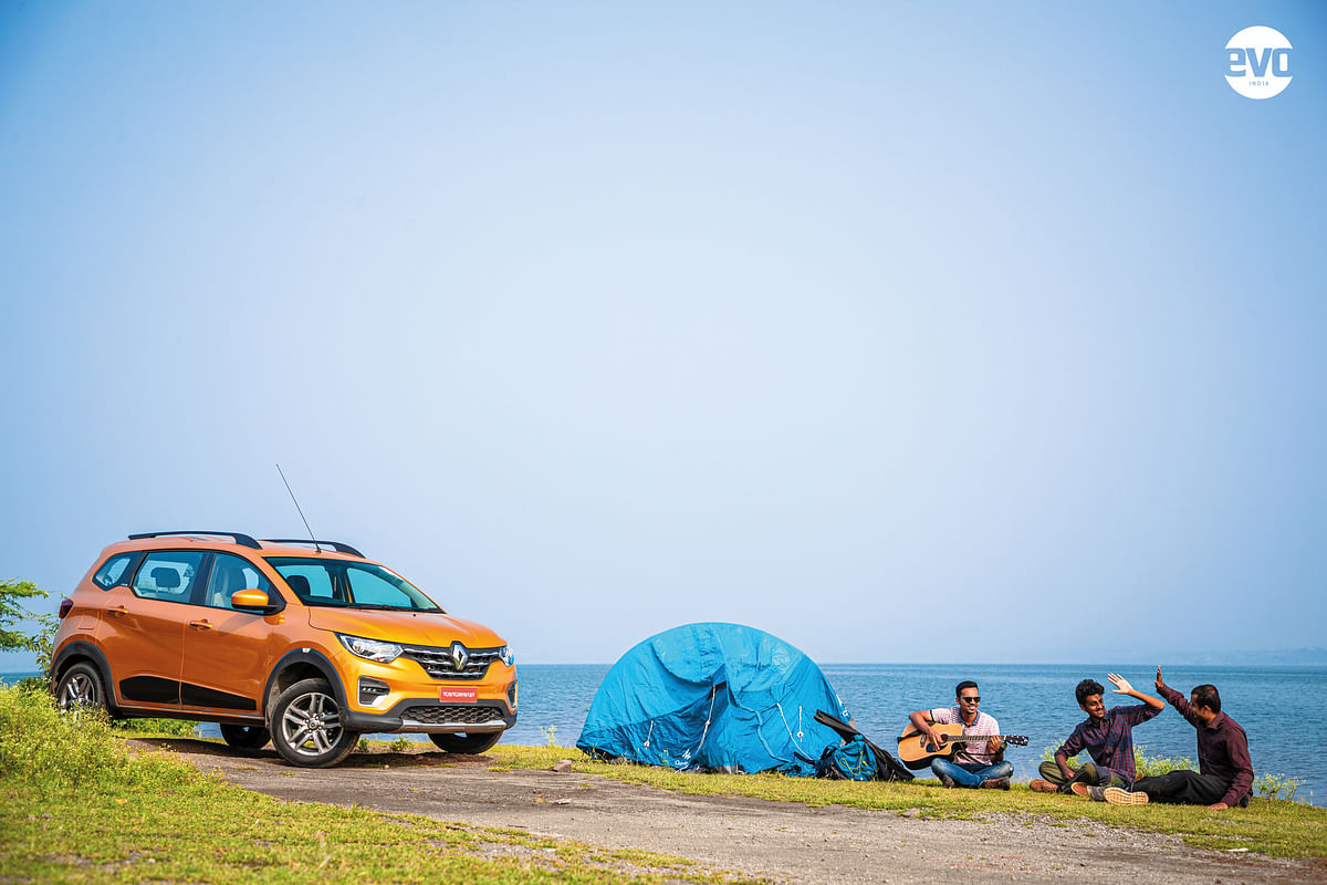 Camping with the Renault Triber