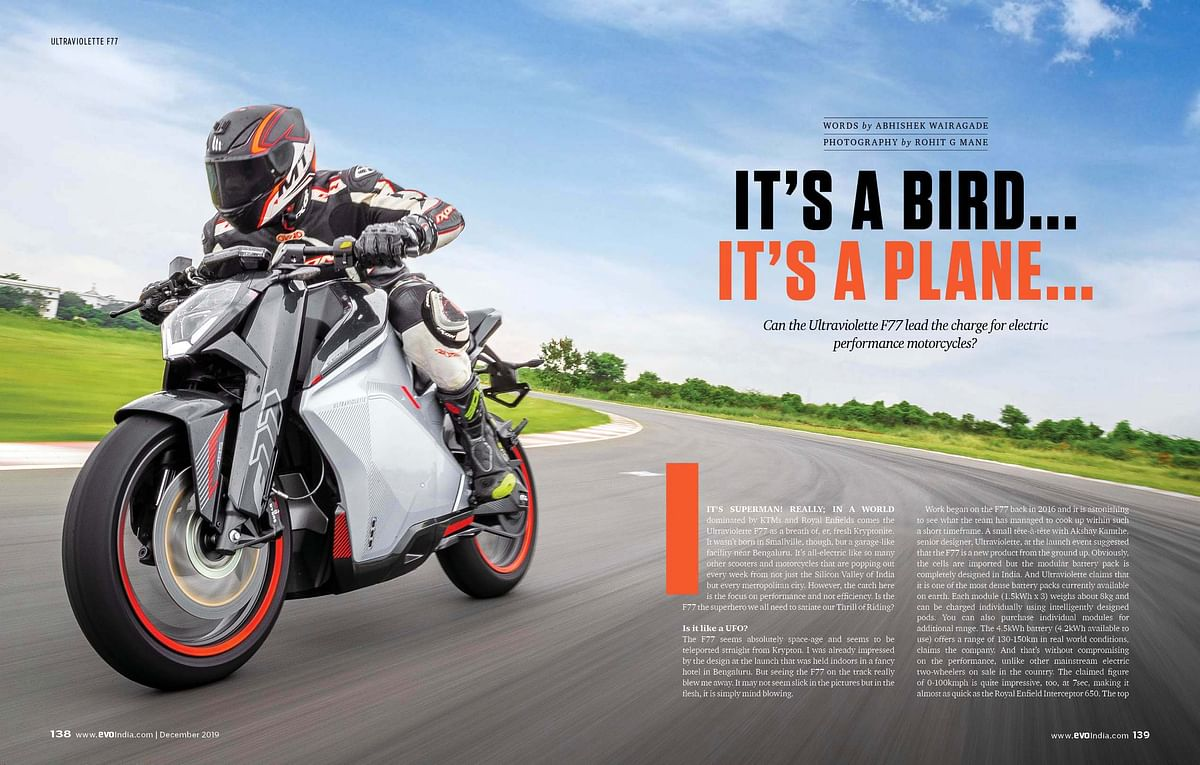 December 2019 issue of evo India magazine – On Stands Now