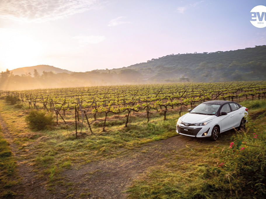 A story of fine craftsmanship - Driving the 2019 Toyota Yaris to Sula Vineyards