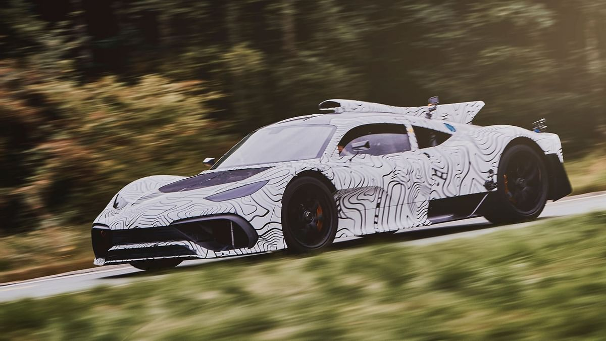 Mercedes-AMG One hypercar shown in new teaser video